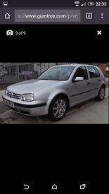 Automatic VW Golf 1.6