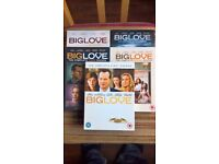 Big Love Seasons 1 - 5 Box Sets DVDs region 2 with slipcovers