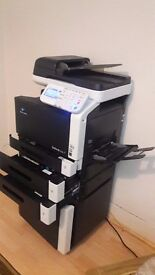 Konica Minolta BizHub C35 Multifunction Laser Colour printer/copier/scanner and fax