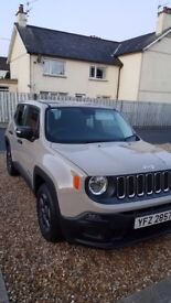 2015 Jeep Renegade Sport,only 15200 miles, immaculate throughout, genuine reason for sale. A CRACKER