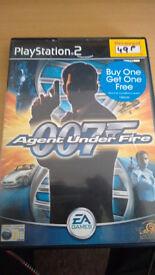 James Bond 007: Agent Under Fire ps2