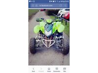 Apache 450cc 2010 road legal quad bike with 12 month mot.
