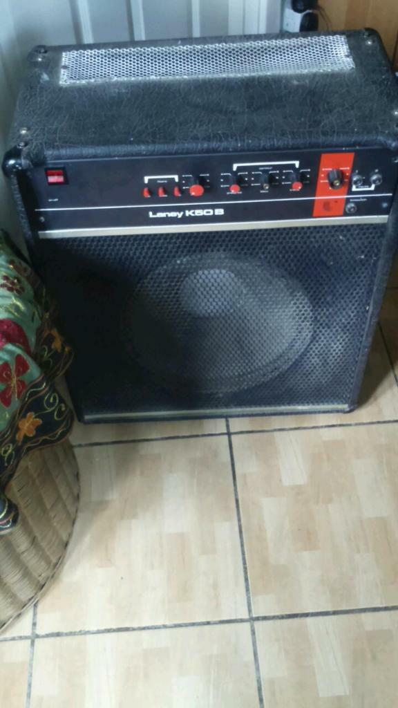 laney k50b guitar amp vintage in frome somerset gumtree. Black Bedroom Furniture Sets. Home Design Ideas