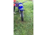 Pw50 excellent condition , only reason for sale is that my little boy has out grown it . £400 Ono