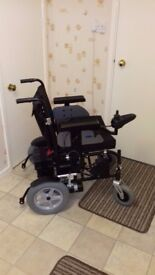 Electric Wheelchair for sale new unused with accessories £750