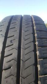 One x HANKOOK - 205 x 65 x 16 Tyre - £25.00