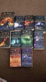 Malazan Book of the Fallen - All 10 books