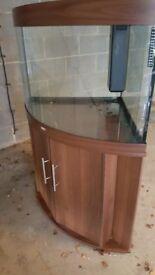 Jewel Trigon Corner Aquarium 190L with full equipment