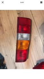 REAR LIGHTS FORD TRANSIT MARK 6