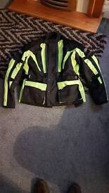 Rst bike armored padded hi vizier jacket coat size L cost over 85 will take 40