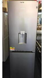 NEW DAEWOO RN37DS 60/40 Fridge Freezer - Silver. £249.99