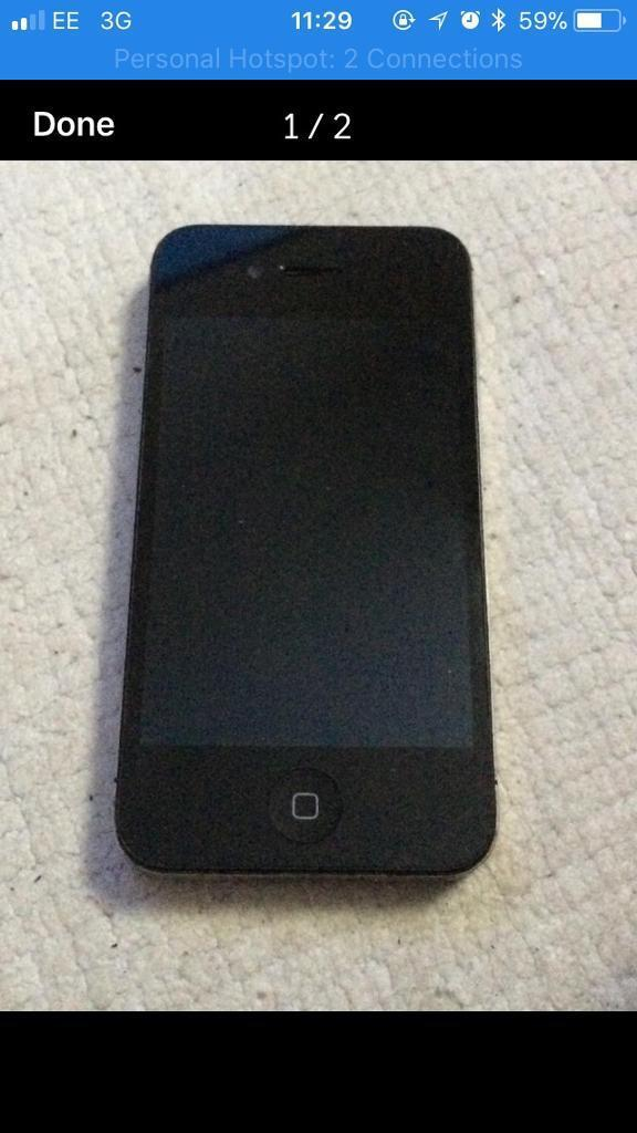 IPhone 4s Black Unlocked