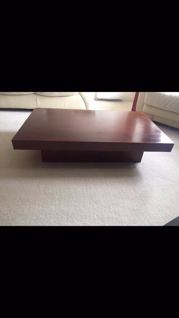 "NEXT COFFEE TABLE - WOOD - GREAT CONDITION - 47.5"" x 29.5"" x 11.5"""