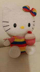 Hello Kitty Plush Teddy