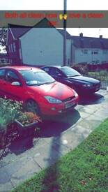 Mk1 Ford Focus **10 month MOT** no lower than £430