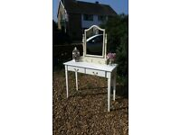 Beautiful elegant dressing table with mirror