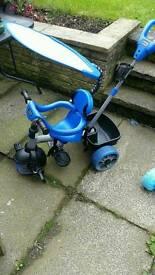 Little tikes 4 in 1 trike blue