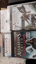 Assassins Creed PS3 games