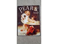 """PEARS SOAP PICTURE - 12"""" (30cm) x 16"""" (40cm) - BRAND NEW"""
