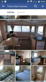 Caravan hire Trecco bay
