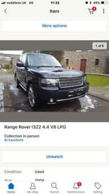 Range Rover PROJECT vogue 2012 facelift lpg