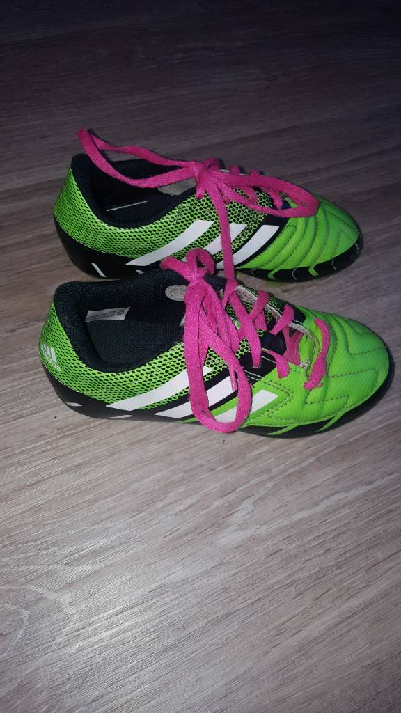 16a34bc2db6d19 Adidas kids football boots (used) size 12 (uk). Wakefield