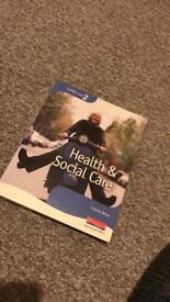 Nvq level 2 health and social care book