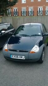 Ford KA 2006 44000 miles perfect first car/run £600 ONO