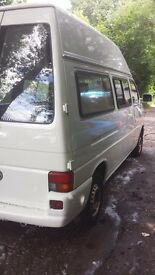 Vw t4 hightop 2.5 diesel only 100.000 miles great camper project