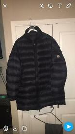 Gorgeous MENS BLUE/GREY MONCLER JACKET.
