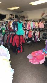 Baby's clothes and more rags to riches children's re sale shop