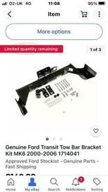 Genuine Ford Tow bar Bracket kit.