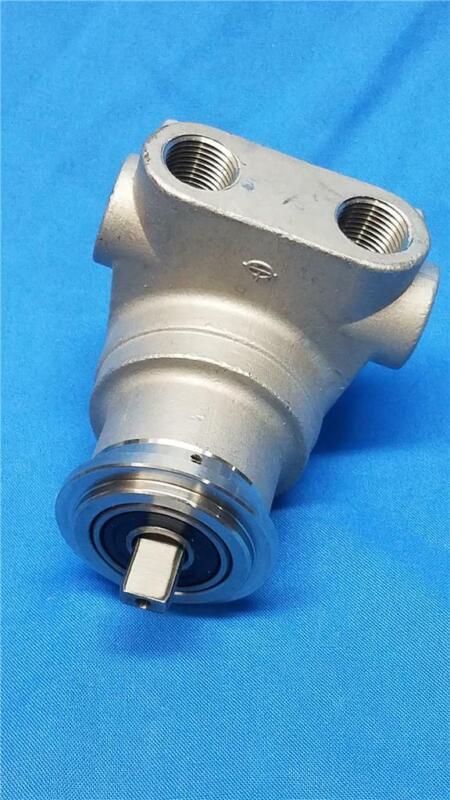 Fluid-O-Tech PA110 Stainless Steel Recirculation Pump Head