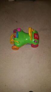 A walk and ride toy