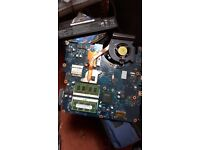 Samsung R530 laptop motherboard with 3G Ram