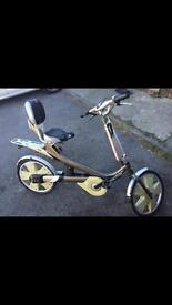 Giant revive bike , semi recumbent bicycle , from film I robot
