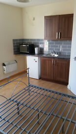 No Bond or Fees / DSS over 35 Welcome - Self Contained Ensuite Bedsit To Let in Beeston, LS11 Leeds