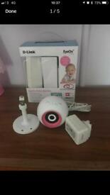 DSC-825L D link baby monitor