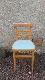 Six 1960's Dining Chairs
