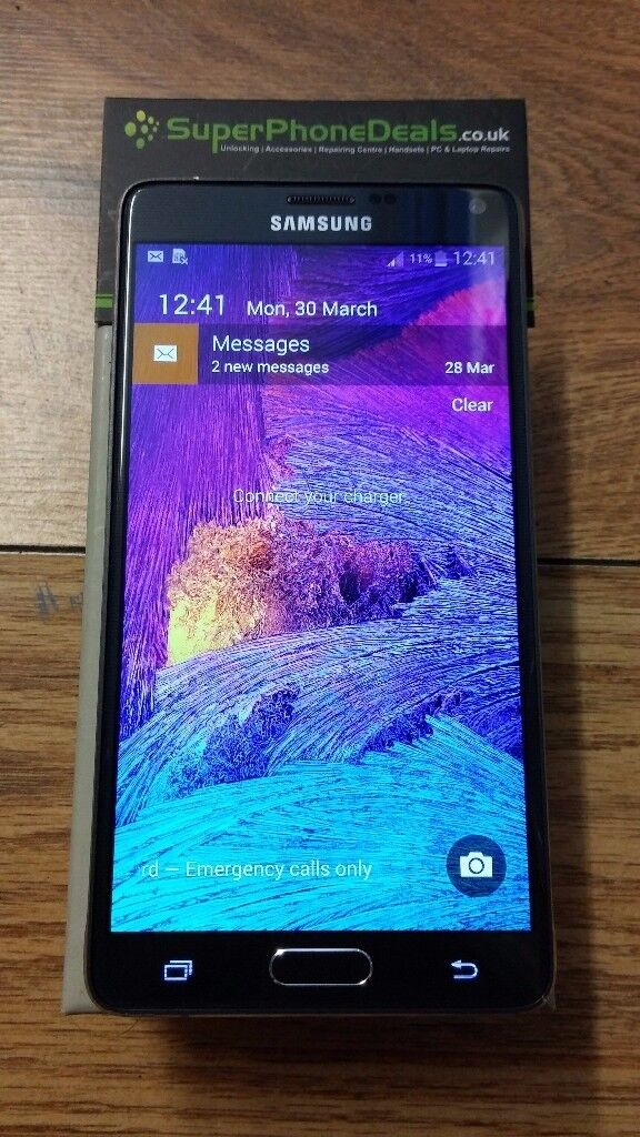 SAMSUNG NOTE 4 32GB - UNLOCKED TO ALL NETWORKS £200