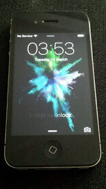 Apple Iphone 4s unlocked with cases