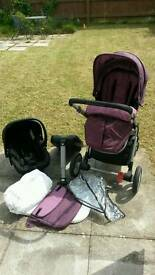 Mothercare Roam Complete Travel System
