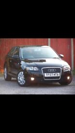 Brilliant conditioned Audi A3 3 door automatic fully serviced and MOT until 2019