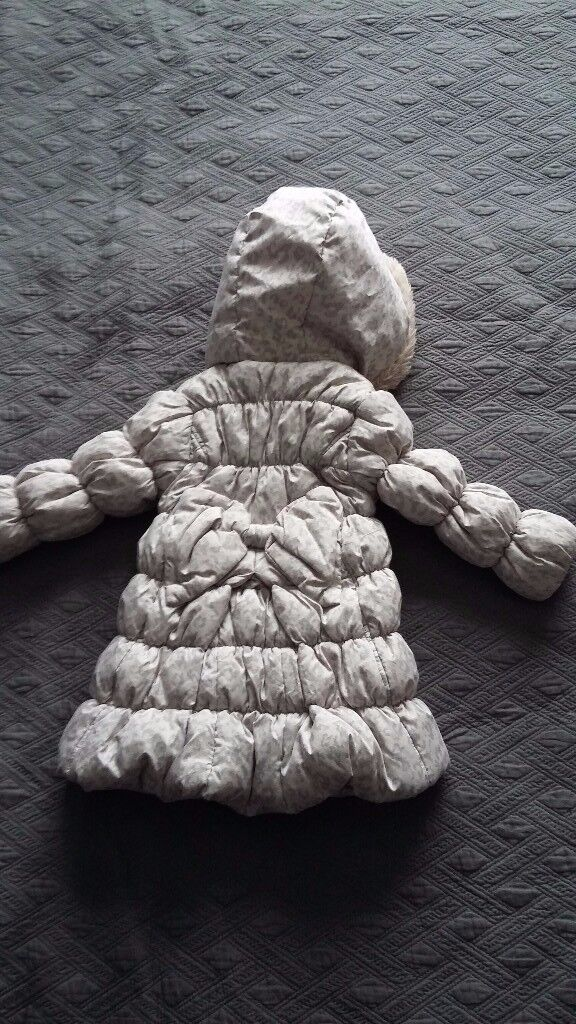 Girl winter coat size 12-18 months