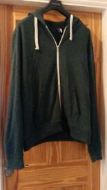 Mens XL Green Hoody Good Condition