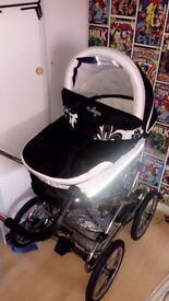 gorgeous ballerina travel system