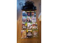 Xbox 360 4gb bndle with kinect and 12 games all boxed. Excellent cond!!