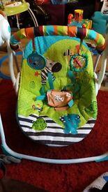 Bright starts baby swing
