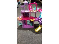 My little pony playsets and poniea
