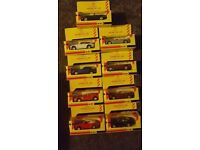Set of shell classic sports cars